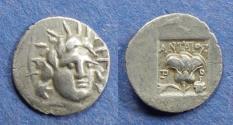 Ancient Coins - Islands off Caria, Rhodes 125-88 BC, Hemidrachm