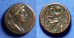 Ancient Coins - Lydia, Philadelphia Circa 100 BC, Bronze AE18