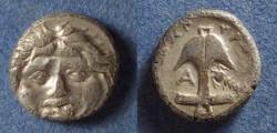 Ancient Coins - Thrace, Apollonia Pontika 350-300 BC, Drachm