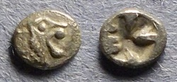 Ancient Coins - Uncertain Western Asia Minor,  Circa 450 BC, Tetartemorion