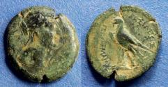 Ancient Coins - Egypt, Berenike II, Wife of Ptolemy III Struck 244-221 BC, AE22
