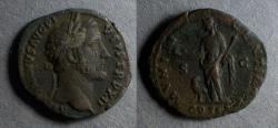 Ancient Coins - Roman Empire, Antoninus Pius 138-161, AS