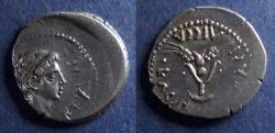 Ancient Coins - Kings of Mauretania, Juba II and Kleopatra Selene 25 BC-24AD, Denarius