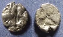 Ancient Coins - Lesbos, Uncertain mint 550-480 BC, Hemidrachm