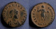 Ancient Coins - Roman Empire, Honorius 393-423, AE2