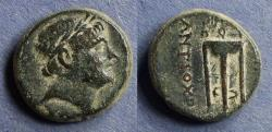 Ancient Coins - Seleucid Kingdom, Antiochos III 222-187 BC, AE17
