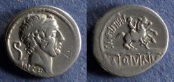 Ancient Coins - Roman Republic, L Marcius Philippus 57 BC, Denarius