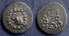 Ancient Coins - Mysia, Pergamon 92-88 BC, Cistophoric Tetradrachm
