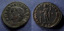 Ancient Coins - Roman Empire, Constantius I (as Caesar) 293-305, Follis