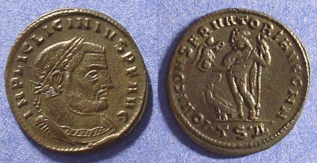 Ancient Coins - Licinius 308-324AD Follis (23mm)