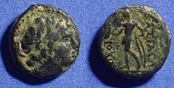 Ancient Coins - Seleucid Kingdom, Antiochos III 223-187 BC AE11