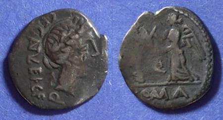 Ancient Coins - Roman Republic, C Egnatuleius 97 BC, Quinarius