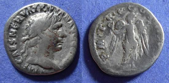 Ancient Coins - Trajan 98-117AD - Denarius
