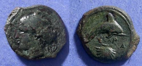 Ancient Coins - Syracuse, Sicily Circa 410 BC, Hemilitron