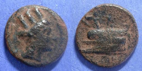 Ancient Coins - Pheonicia, Arados Circa 250 BC, AE20