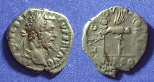 Ancient Coins - Septimius Severus 193-211 AD,  Legion VII CL denarius