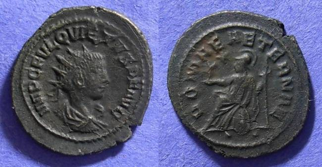Ancient Coins - Quietus – Summer 260-Summer 261 – Usurper in the east
