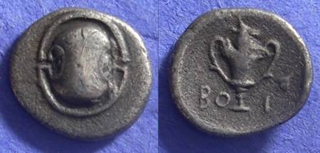 Ancient Coins - Boeotia – Federal coinage – Hemidrachm 338-315 BC