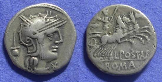 Ancient Coins - Roman Republic – Postumia 1 131BC