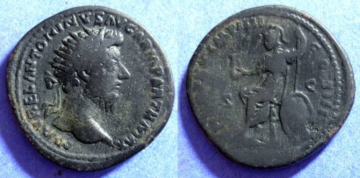 Ancient Coins - Marcus Aurelius - 161-180 Dupondus
