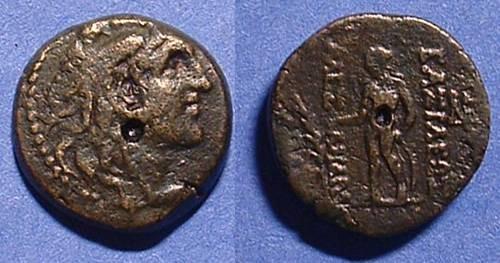 Ancient Coins - Seluecid Kingdom - Alexander Balas 150-145 BC  AE-18