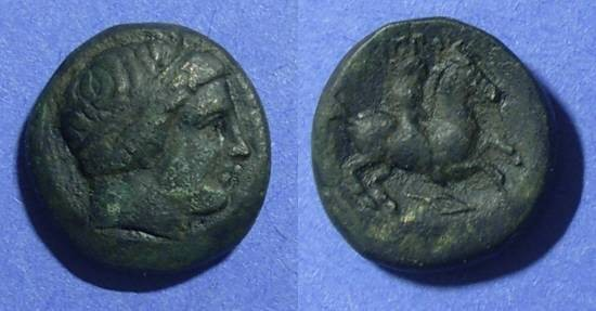 Ancient Coins - Macedonian Kingdom, Philip II 353-300 BC, AE16