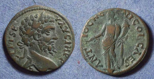 Ancient Coins - Antioch Pisidia, Septimius Severus 193-211, AE22