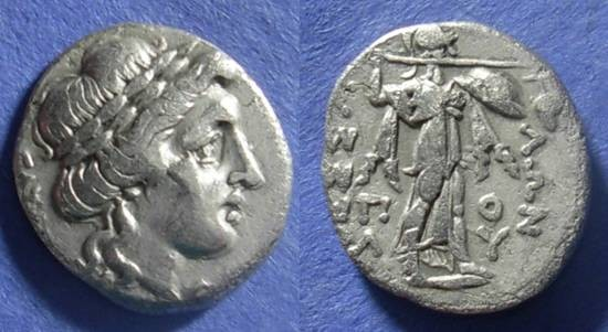 Ancient Coins - Thessalian League,  196-146 BC, Drachm