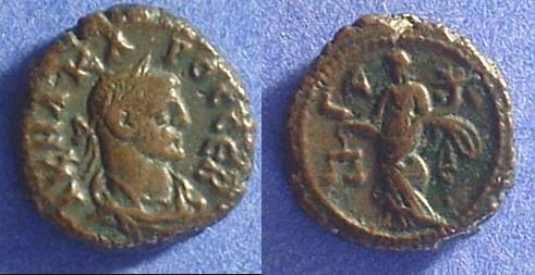 Ancient Coins - Roman Egypt - Carus 282-3 - Potin Tetradrachm