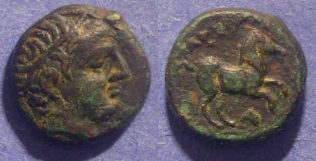 Ancient Coins - Macedonian Kingdom, Alexander III 336-323 BC, AE13
