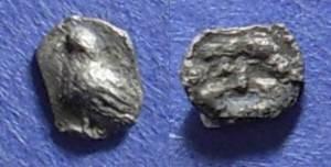 Ancient Coins - Abydos, Troas Circa 480 BC, Hemitartemorion (1/8 obol)