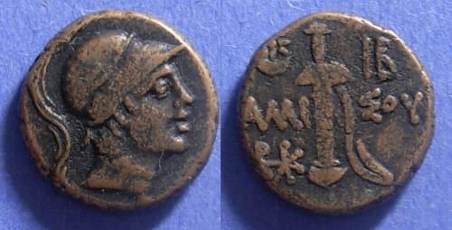 Ancient Coins - Amisos, Pontos 100-85 BC, AE19