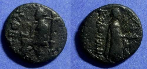 Ancient Coins - Kolophon Ionia  AE18