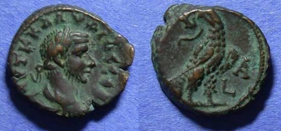 Ancient Coins - Roman Egypt, Claudius Gothicus 268-70, Tetradrachm