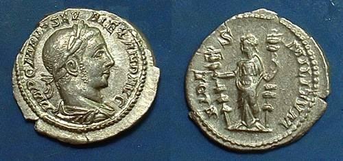 Ancient Coins - Severus Alexander 222-235 Denarius
