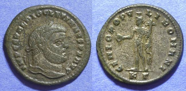 Ancient Coins - Roman Empire - Diocletian 284-305 - Follis