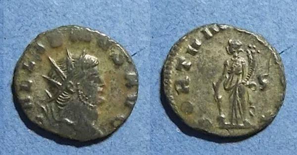 Ancient Coins - Roman Empire, Gallienus 253-268, Antoninianus