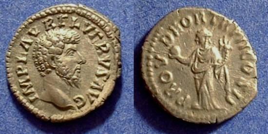 Ancient Coins - Lucius Verus 161-169 AD Denarius