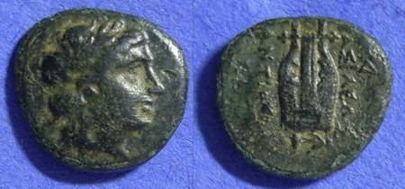 Ancient Coins - Seleucid Kingdom - Antiochos II 261-246BC - AE14