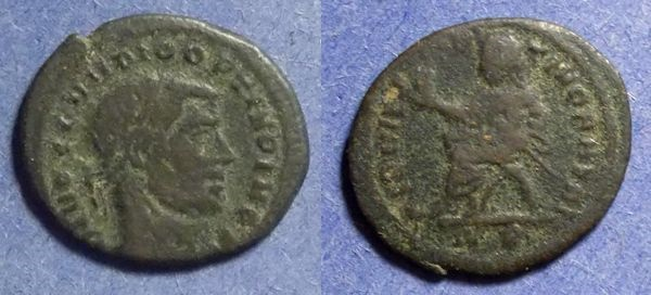 Ancient Coins - Roman Empire, Divo Claudius II d. 270, 1/2 Follis