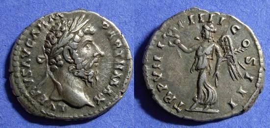 Ancient Coins - Lucius Verus 161-9 Denarius