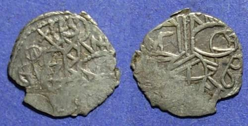 Ancient Coins - Empire of Trebizond, Alexius IV or John IV 1417-1458, Asper