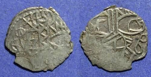 Ancient Coins - Empire of Trebizond, Alexius IV or John IV 1417-1458, Asper