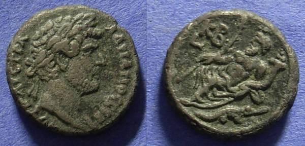 Ancient Coins - Roman Egypt - Hadrian 117-138 AD Tetradrachm of Alexandria