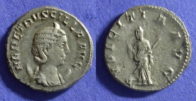 Ancient Coins - Herennia Etruscilla (Wife of T. Decius) 249-251AD Antoninianus