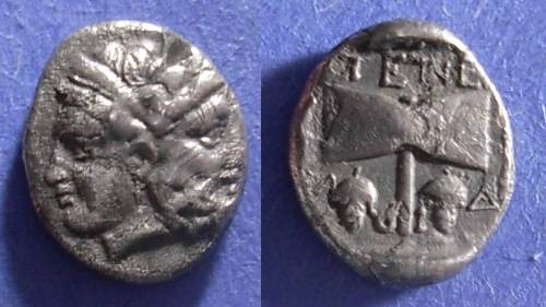 Ancient Coins - Tenedos, Troas 450-387 BC, Drachm