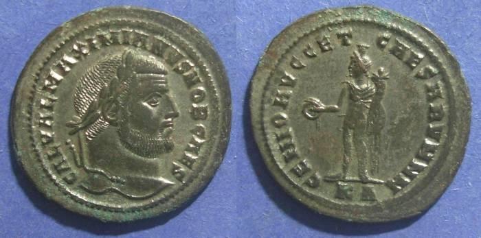 Ancient Coins - Roman Empire, Galerius (as Caesar) 293-305 AD, Follis