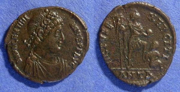 Ancient Coins - Valentinian II 379-392AD AE2