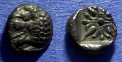 Ancient Coins - Miletos Ionia 520-390 BC Hemiobol (1/48 Stater)