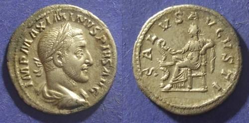 Ancient Coins - Roman Empire, Maximinus 235-238 AD, Denarius